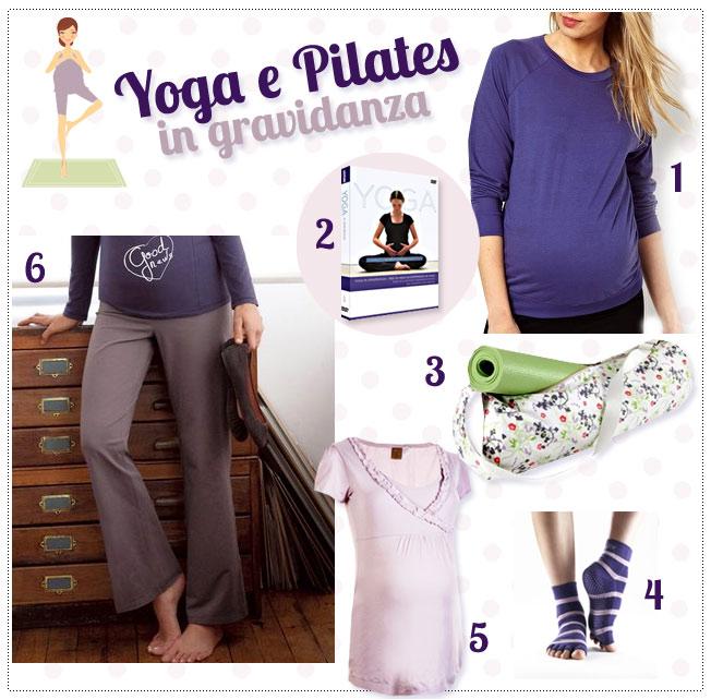 abbigliamento per corsi di yoga e pilates in gravidanza a milano