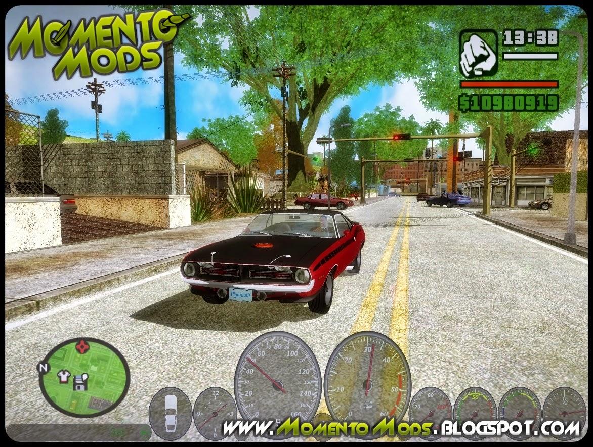 GTA SA - Novo Velocímetro v3 Para GTA San Andreas