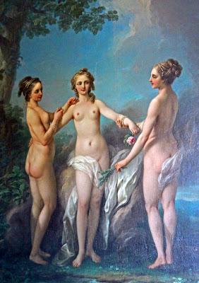 Carl Van Loo - Les trois graces