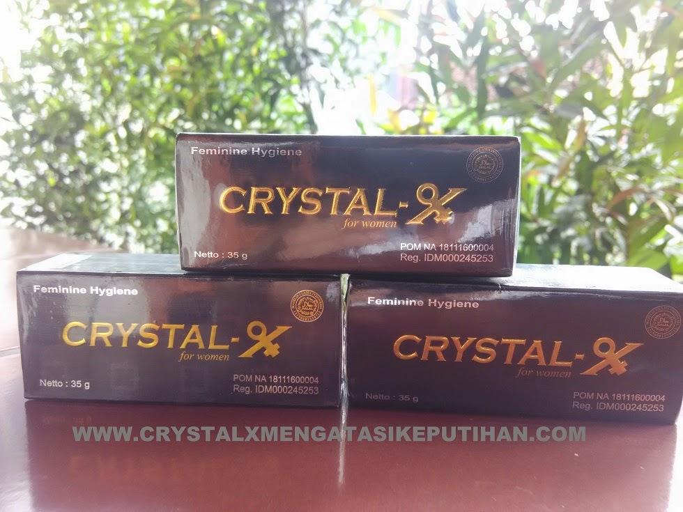 Crystal X Mengatasi Keputihan