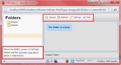 Image 伺服器端管理