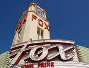 The historic Fox Theater