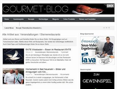 Gourmet-Blog