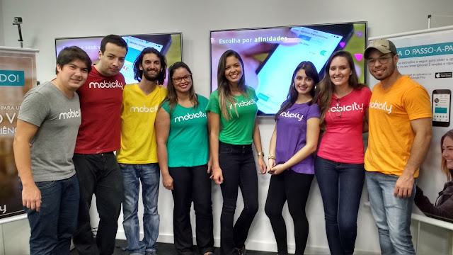 Equipe da startup Mobicity