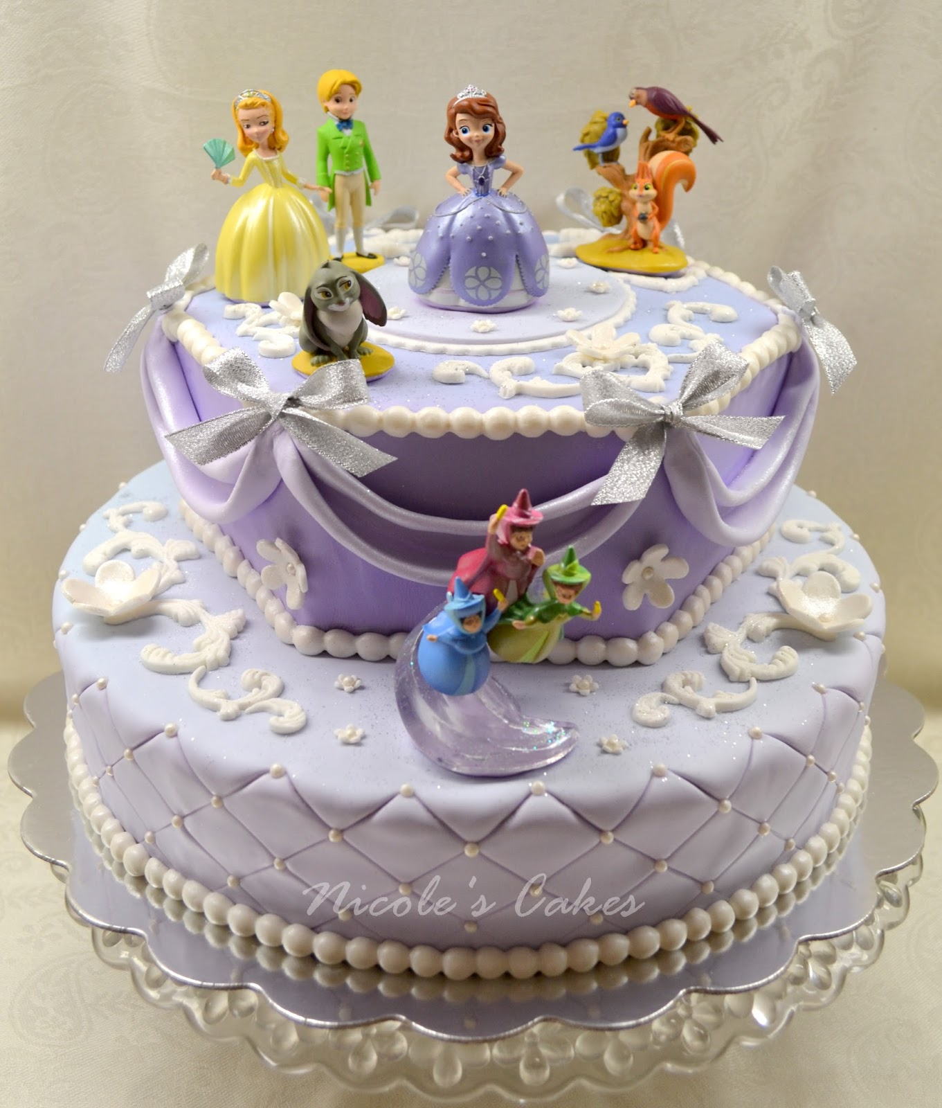 Pictures Of Princess Sofia Cake : Princess parties on Pinterest Sofia The First, Princess ...
