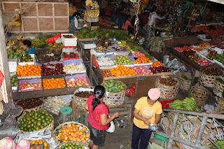 Bali: Ubud market
