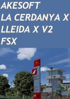 AKESOFT - LA CERDANYA X + LLEIDA X V2 FSX