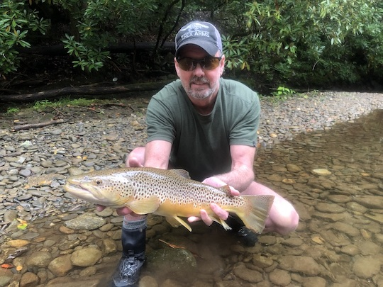 Photo of the Month: Guide Trip Fish of the Year for the Smokies