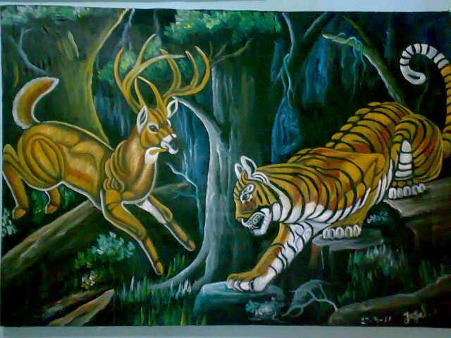kehidupan di hutan