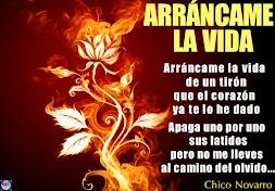 ARRANCAME LA VIDA (Chico Novarro)