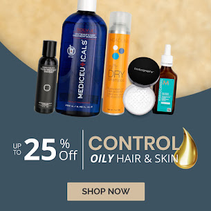 Control Oily Hair & Skin | Up to 25% Off