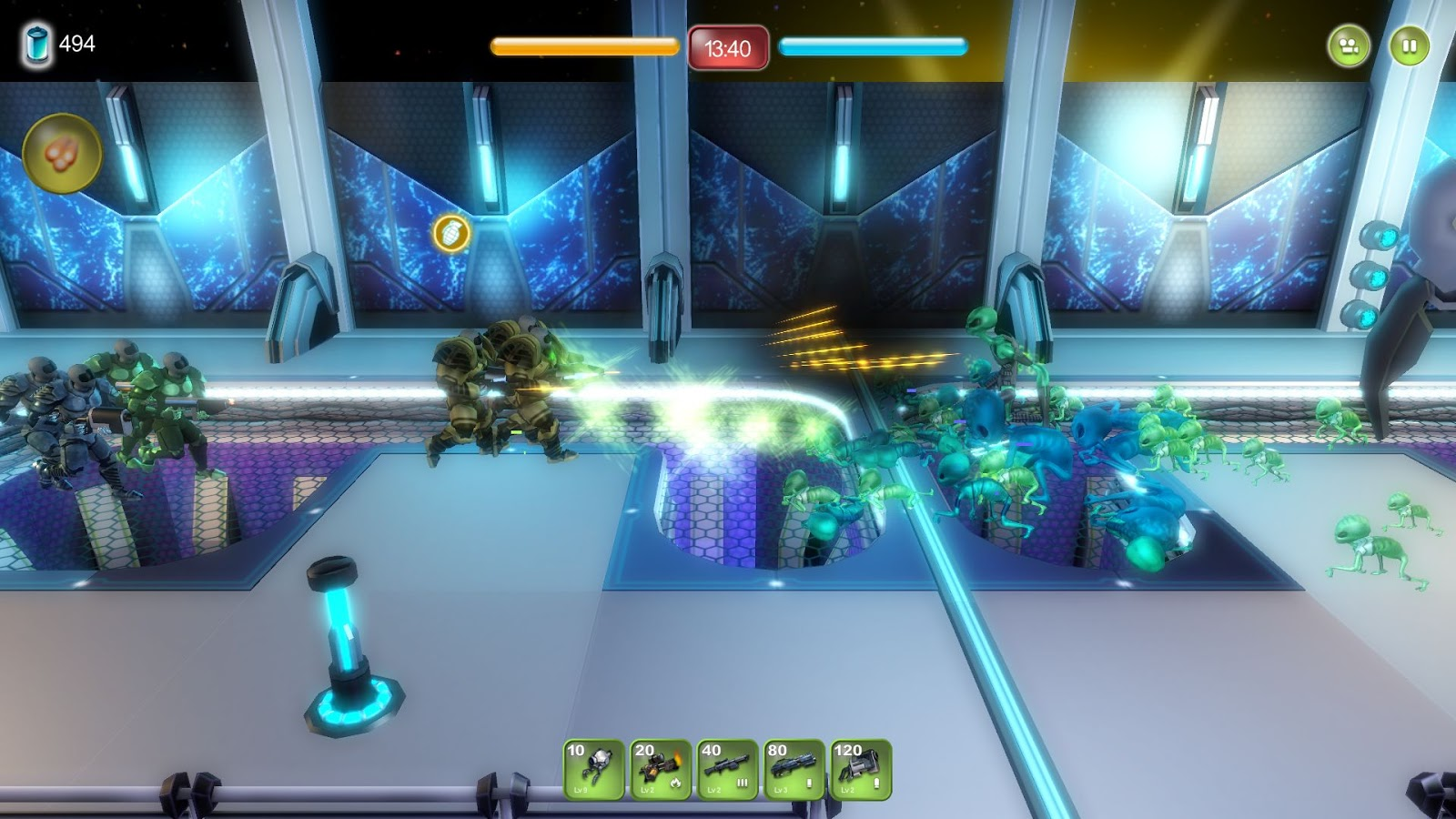 Alien-Hallway-Screenshot-Gameplay-2