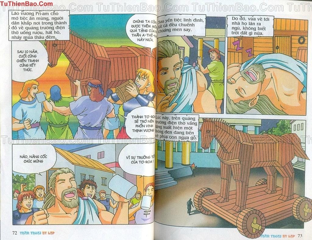 Thần thoại Hy Lạp Chapter 14 - Trang 35