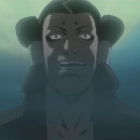 Por causa das habilidades assustadoras de seu filho, Kimimaro, mesmo entre os Kaguya, ele o manteve trancado até que um dia, ele libertou Kimimaro para ajudar a destruir Kirigakure. Depois de chegar aos arredores de Kirigakure, ele ordenou a todo o clã para entrar na aldeia, a fim de destruí-la, simplesmente para mostrar a ferocidade de seu clã. Apesar de terem sido brevemente capazes de ganhar a vantagem, eles acabaram sendo cercados e derrotados. O chefe do clã ordenou que os membros restantes lutassem até o final, o que levou à morte de todos os membros, exceto Kimimar