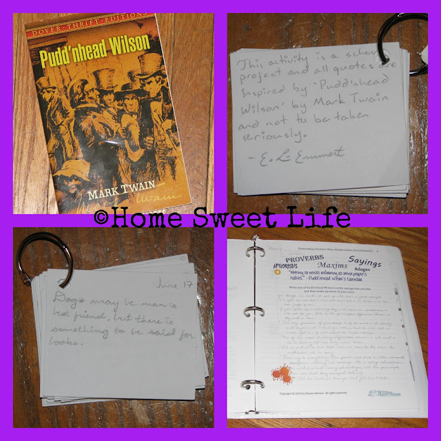 Homeschool Literature Class