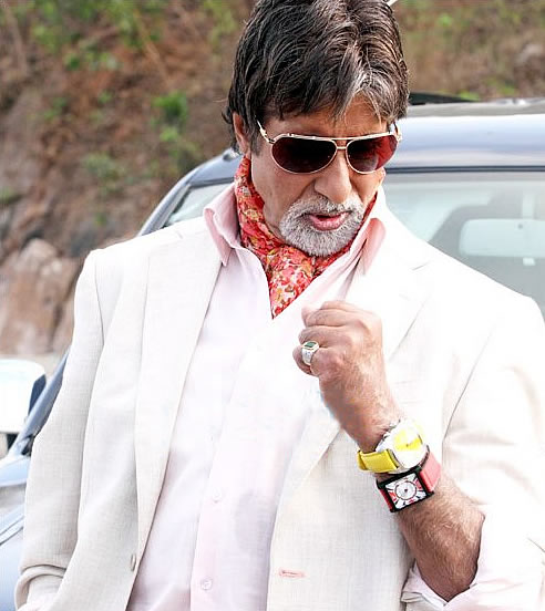 Image result for amitabh bachchan two watches
