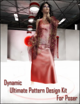 Dynamic Ultimate Pattern Design Kit for Poser