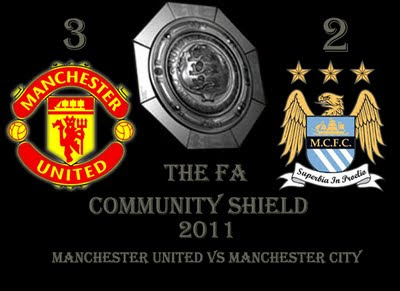 Manchester United vs Manchester City Community Shield 2011