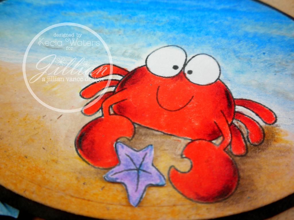 AJVD, Whimsie Doodles, Prismacolor pencils, Kecia Waters