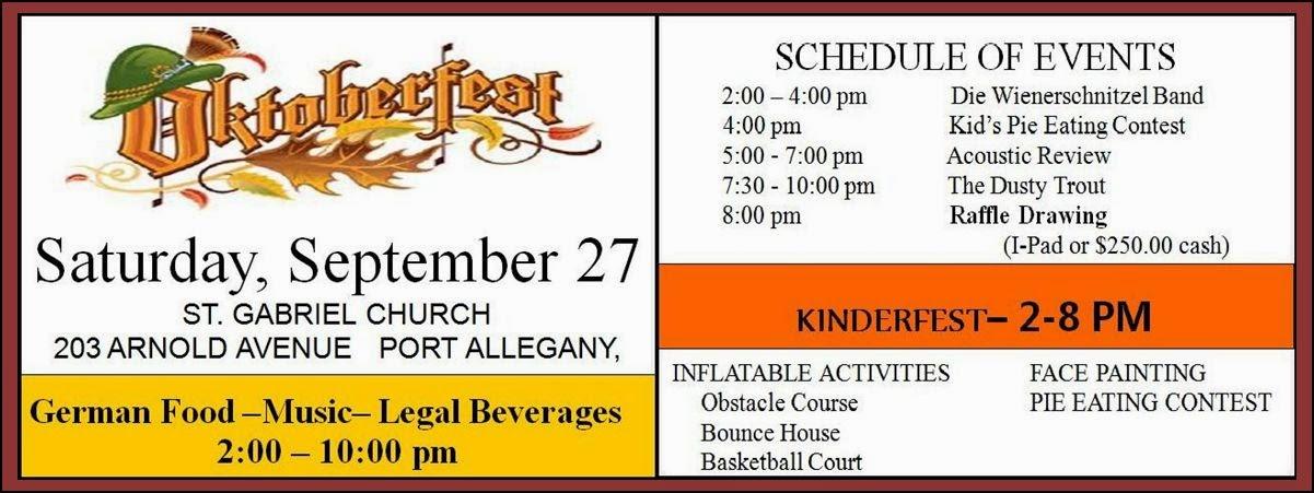 St. Gabriel's Oktoberfest