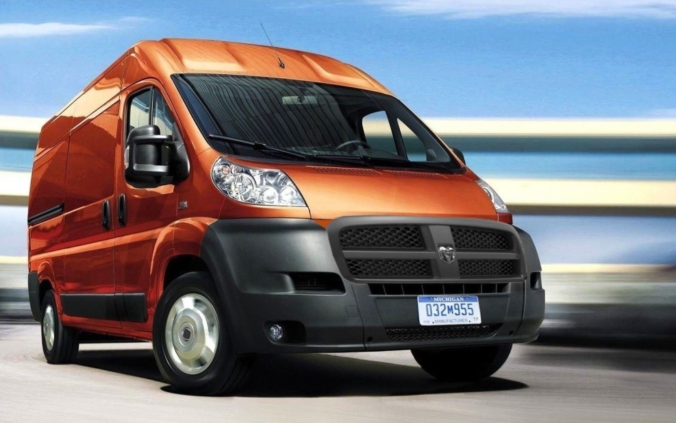 Fiat Ducato rebadged for the USA market: Ram ProMaser | The Fiat and