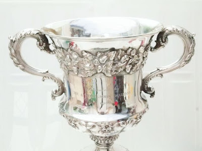Large George IV Silver Trophy Cup - Emes & Barnard 1828 - 19th Century Georgian