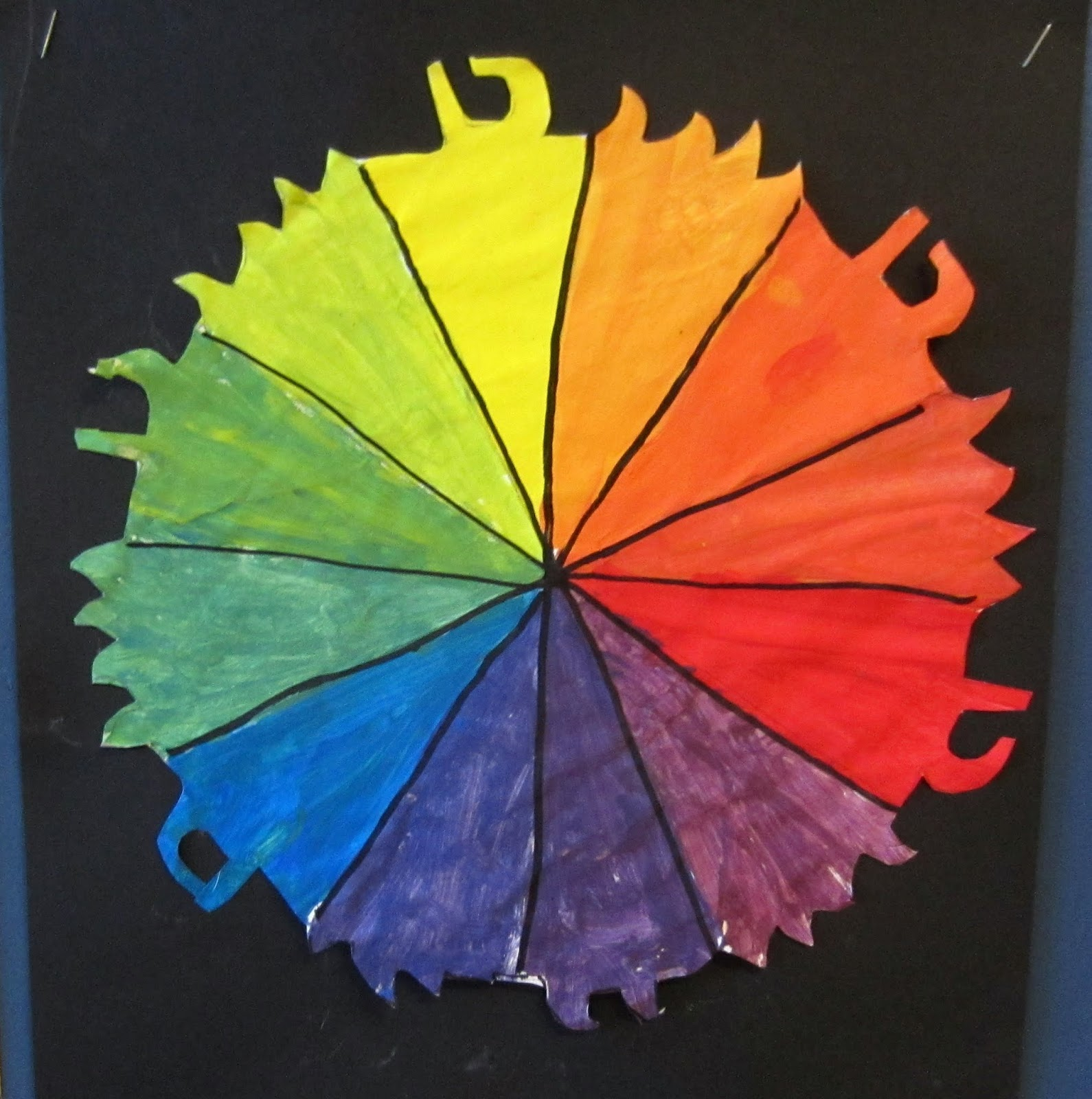 Mrs Art Teacher Classic Color Wheels