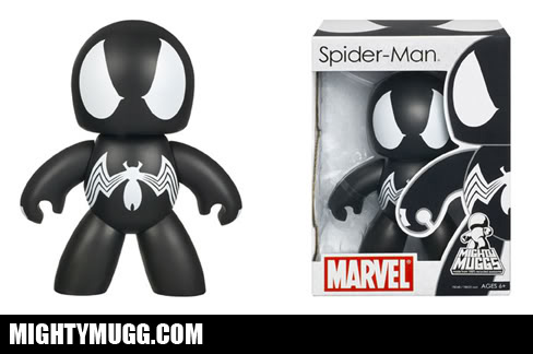 Spider-Man Symbiote Marvel Mighty Muggs Wave 3 - Mightymugg.com