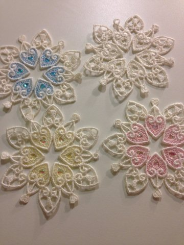 Machine Embroidery Designs Free Snowflake Pattern For Sandy Hook