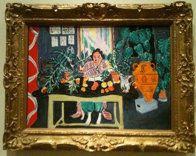 Intérieur au vase étrusque, Matisse, Cleveland Museum of Art