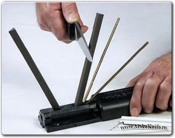 Точилка spyderco для ножей как носить поясные ножны из стропы барс