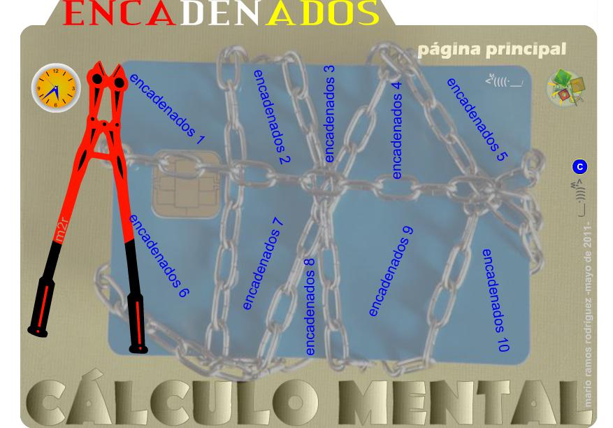 http://www3.gobiernodecanarias.org/medusa/eltanquematematico/encadenados/encadenados_p.html