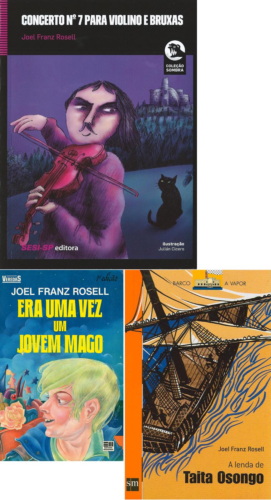 CONCIERTO Nº7 PARA VIOLIN Y BRUJAS se convierte en mi tercer libro brasileño