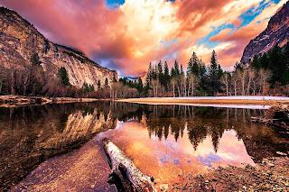 Fondo Parque Nacional Yosemite, California