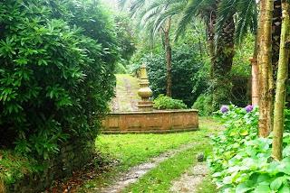 Luarca, Jardines de la Fonte Baixa, fuente