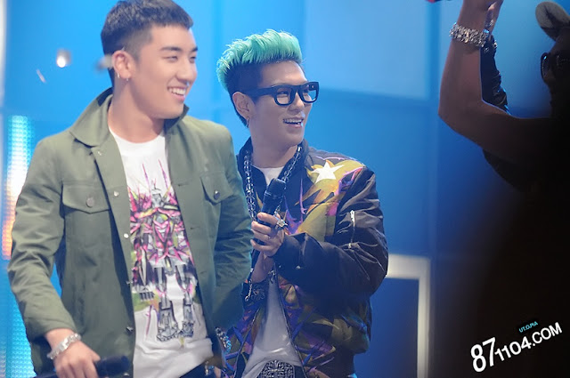 T.O.P at Inkigayo