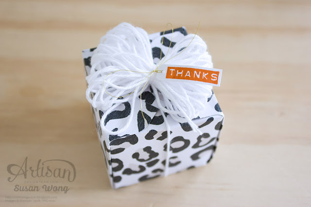Go Wild DSP + Silhouettes & Script Gift Box ~ Susan Wong