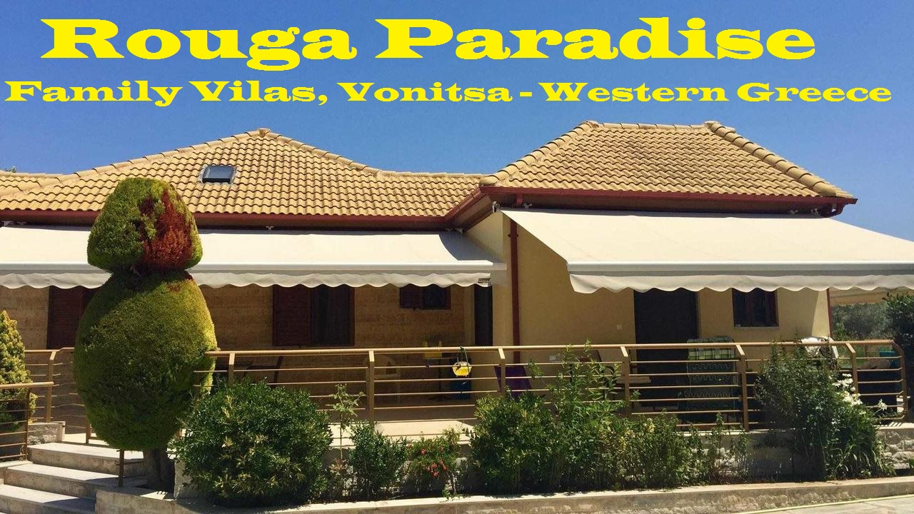 Rouga Paradise, Family Villas, Vonitsa Greece