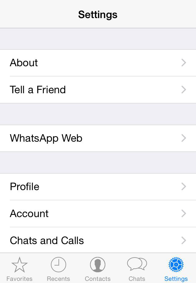 how to access whatsapp web for iphone user