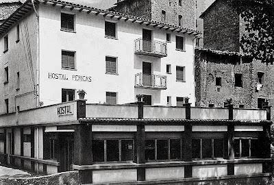 hostal pobla lillet fabrica clot del moro asland abandono tren cement cemento