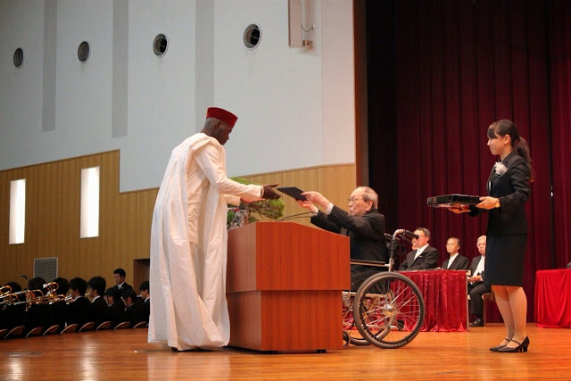 nigerian best student tokai japan