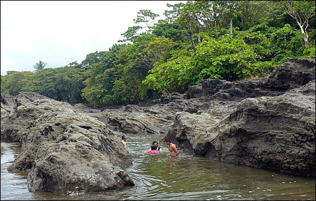 Hidden saltwater pool where you can soak away your cares