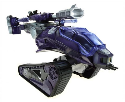 SDCC 2012 Exclusive Transfromers x G.I. Joe Shockwave H.I.S.S. Tank with Destro & B.A.T. Action Figure Set - Shockwave H.I.S.S. Tank