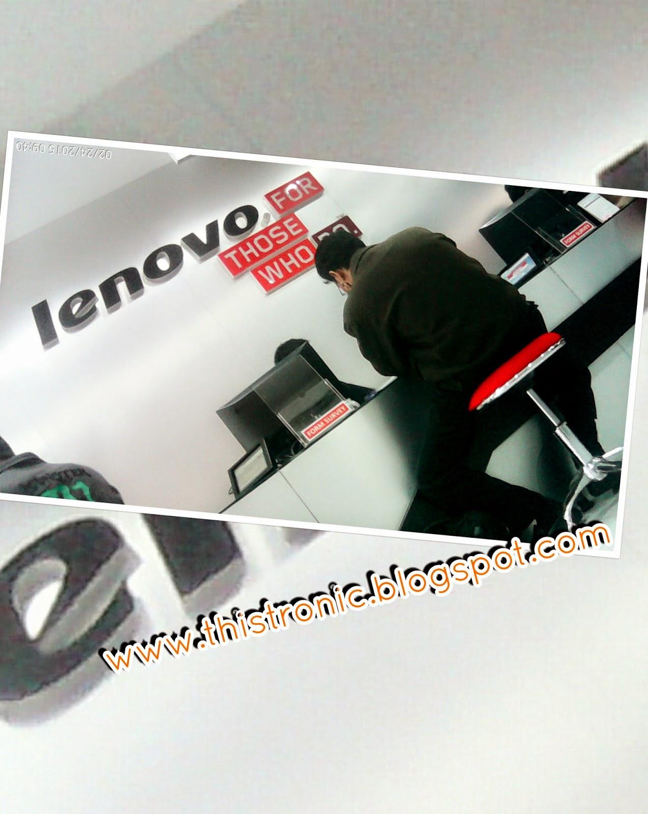 Alamat serta jam kerja pelayanan Lenovo service certer Yogyakarta