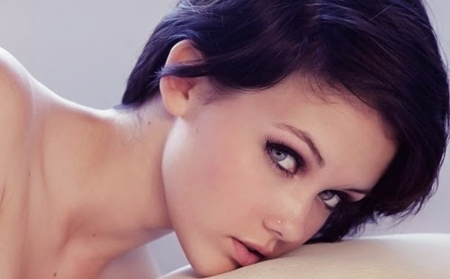 Красивые глаза девушек. Фото