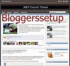 MBT Church Blogger By MBT 2014