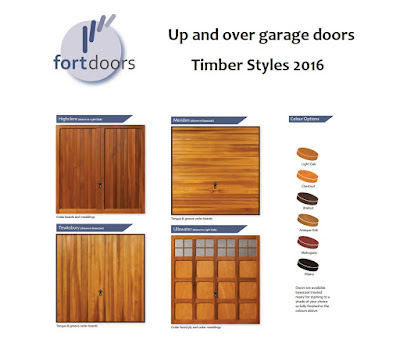 Up and over garage doors - Timber Styles 2016 - Fort Doors