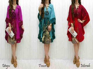 Dress Batik Cantik fit to XL