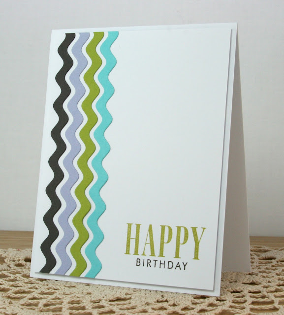 Masculine Happy Birthday Card