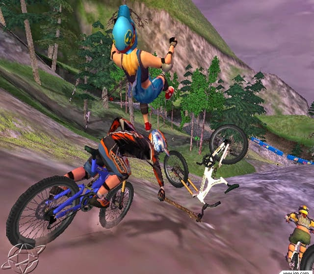game legenda downhill domination